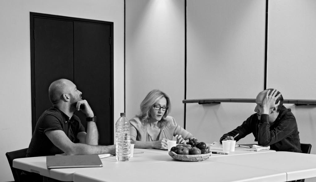 John Tiffany, J.K. Rowling, Jack Thorne. Photography Debra Hurford Brown, ©J.K. Rowling 2015
