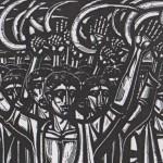 Η εξέγερση στο Κιλελέρ - Χαρακτικό από τον Α. Τάσσο