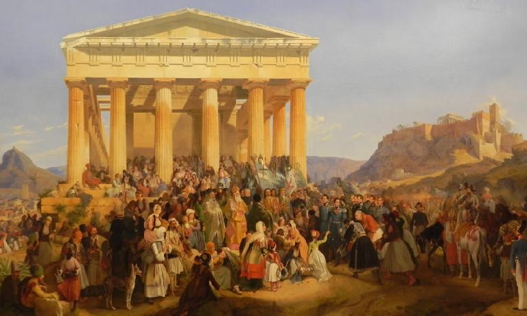 25 Μαρτίου 1821 - Ο πρώτος εορτασμός της εθνικής επετείου στην Ελλάδα του  Όθωνα (1838) - Blog Εκδόσεις Ψυχογιός